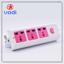 120V 13A power extension electrical ce american style socket and switch