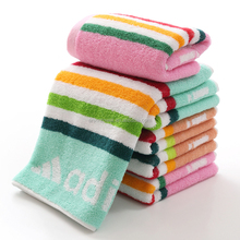 cotton solid color embroidery bath towels/face towel/hand towel