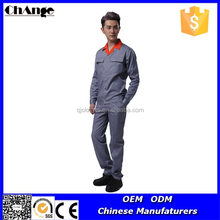 Polyester / Cotton Material and Sets Style Construction Company Working Uniform