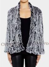 Cx-g-a-149b de punto de piel de conejo ropa para mujer más popular en 2013