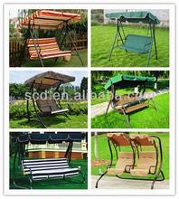 2014 new style two seat garden swing bench / swing chair