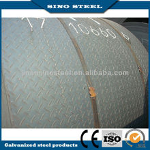 HOT ROLLED Mild Alloyed checkered diamond steel coil/sheet