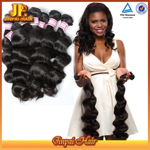 JP Hair 100% No Shedding Virgin Brazilian Loose Deep Wave Hair Weave