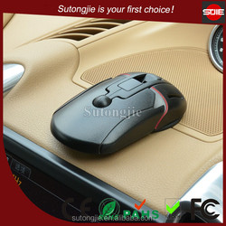 Universal mouse like one touch humanized design portable suction cup sticky new 360 degree rotating car phone holder mount