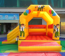 Factory price ben 10 inflatable bouncing castle for sale/inflatable bouncer/jumping castle