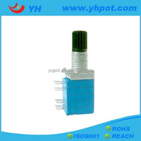 YH jiangsu 9mm 4 gang bushing rotary linear types of potentiometer electrical motor
