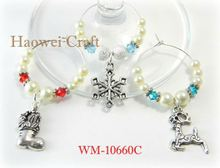 WM-10660C Latest arrival excellent quality drink markers & wine glass charms with good offer