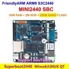 FriendlyARM S3C2440 MINI2440 SBC Single board , 64M RAM + 256M SLC Flash, ARM9 Development Board