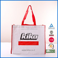 Large Zippered Non Woven Tote Bag