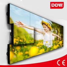 6.3mm ultra narrow bezel 60 inch LCD video wall/big advertising screen/led xxxx video xxx wall