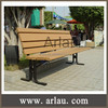 Arlau FW349 Patio furniture wood park bench outdoor wood bench