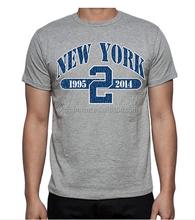 wholesale printed t-shirts mens gym t shirts dri fit running shirts