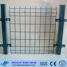 high quality wood garden edging fence with low price