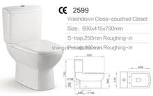 Ce aprobó 4.5L de ahorro de agua de fácil instalación cerámica sanitaria ware españa #2599