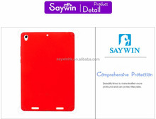 Silicone protective back cover for iPad Air(Red)