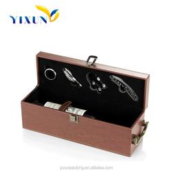 Wholesale Shenzhen Guangzhou Made in China pu leather wine gift box