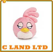 Promotional fashion plush bird toy custom soft stuffed plush bird for sale