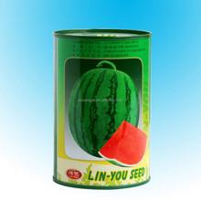 Empty Tin Box for Hybrid Melon Seeds, Round Hybrid Melon Seeds Tinplat Can