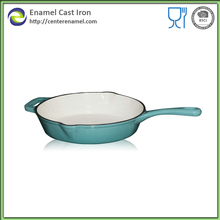 Spanish paella cook cast iron pan wholesale cast iron enamel paella pan cooking pans