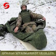 Heated military human shape sleeping bag, camping adult sleeping bag