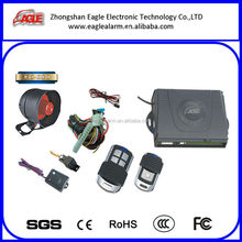 Long distance best-sellnig one way manual car alarm Manufacturer to Turkey market with anti-robbing manufacturer from China