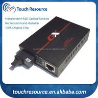 Telecom Equipment Fiber optic to RJ45 Media Converter