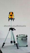 Optical Instruments:Cross Line Laser level Laser line level 4V4H1D green laser level