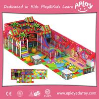 kindergarten Indoor Playhouse Indoor Soft Play Structures
