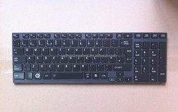 Black us layout layout laptop keyboard for HP P750 with low price