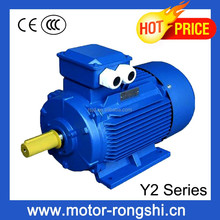 415V flange type Y2 series three phase motor for industrial zone