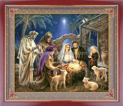 2015 hot selling religion design crystal diamond painting for art collection