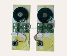 diy programmable sound system for Greeting Cards & Plush Toys,Programmable with Custome Music/Voice