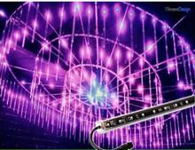dmx shooting star led tube light 3d magic vertical tube
