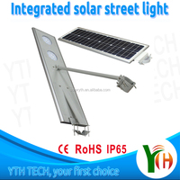 high lumen efficiency garden solar light with 40W led bulb with flexible solar panel