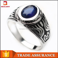 Artificial jewelry wholesale, jewelry plating platinum AAA CZ ring Bangkok fashion imitation jewelry S925 pure silver ring
