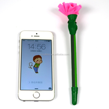 Korea stationery gift pen ballpoint pen mother carnation flower polymer clay pen mixed wholesale