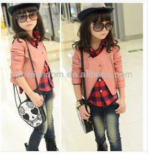 D90071K NEW CHILDREN'S BABY LEATHER PU COAT,GIRLS LEATHER JACKET