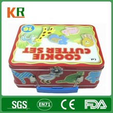 chinese health food free samples tin lunch box
