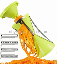 hot new products for 2015 vegetable slicer spiralizer chopper and knife kitchen tools