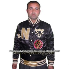 De raso varsity chaquetas/de seda chaquetas varsity/de algodón chaquetas varsity 2014