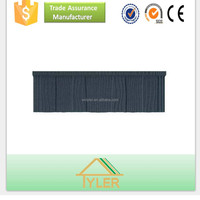 Colorful Stone Chip Coated Metal Roofing Tile / high quality metal roofing material