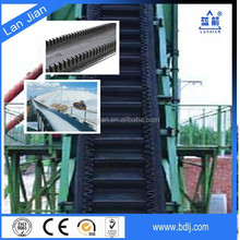 Nylon Fabric (NN) Cold Resistant Corrugated Sidewall Conveyor Belts for Bulk Materials