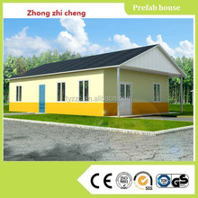 luxury prefab house with light steel structure fo r sale