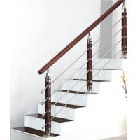 Anodized Aluminium Hand Rail Stairs