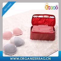 Encai New Arrival Floral Travel Underwear Organizer Bag Waterproof Bra Storage Bag Large