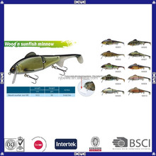 OEM China manufacturer artificial minnow fishing frog