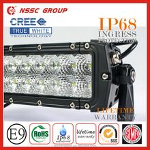 "2015 Guangzhou Factory Truck Jeep ATV, UTV 4X4 LED Light Bar 20""30""40""50"" Dual Row Light Bar, NSSC led bull bar light"
