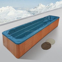 Instant Installation Freestanding Above Ground Outdoor Fiberglass Swimming Pool (HA-M3326)