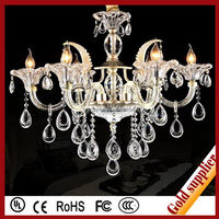 Crazy price UNO style durable clear chandelier