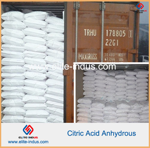 Citric Acid Anhydrous (CAS:77-92-9)